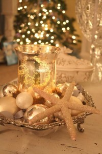 Christmas Wedding Apothecary Jar Candle Holders