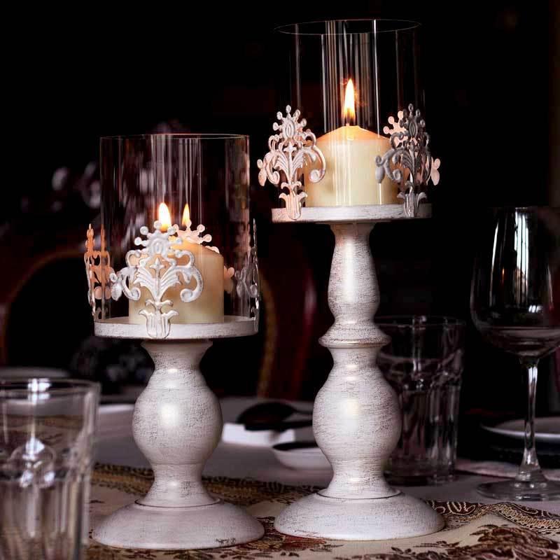 Christmas Noel Candle Holder Glass Jar