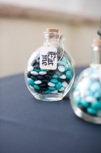 Personalized M&M's in Apothecary Jars