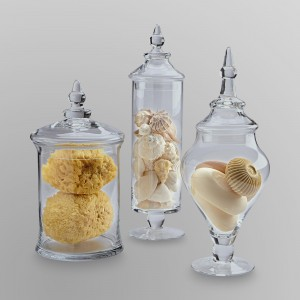 The Shore Apothecary Jars