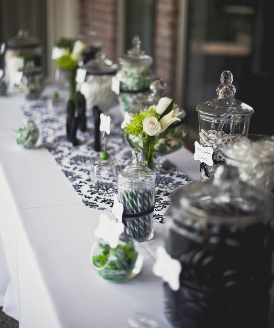 apothecary jar candy bar