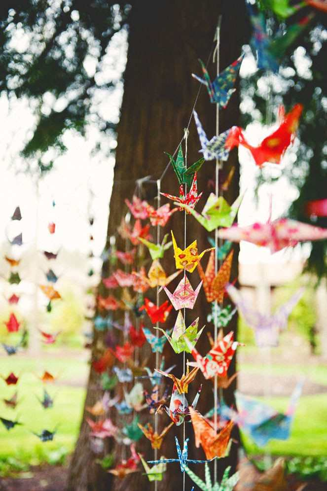 Wedding Origami Decorations