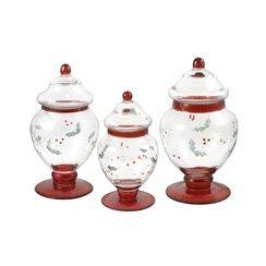 Pfaltzgraff-Winterberry-Glass-Apothecary-Jars-Set-of-3-0