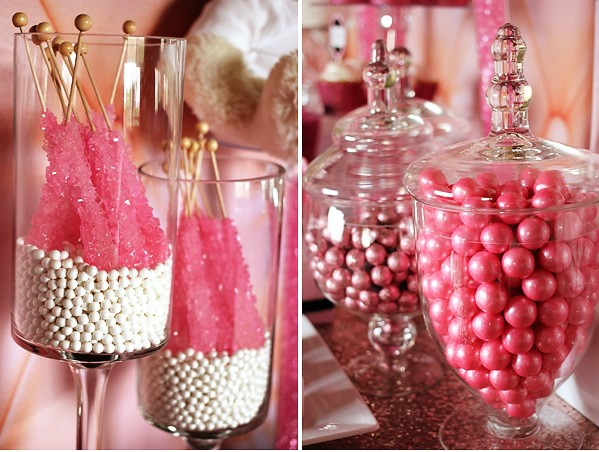 Apothecary Jars Candy Holder
