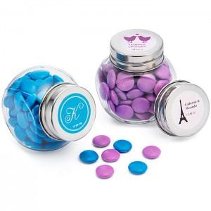 Personalized Wedding Apothecary Jars
