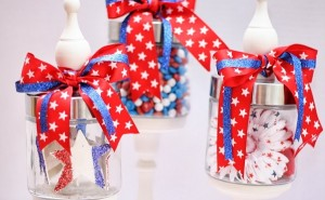 Jars with Ribbons