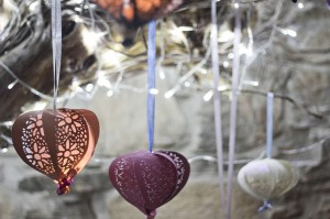 Lanterns with Cut-out Design