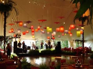 Lanterns with Parasols