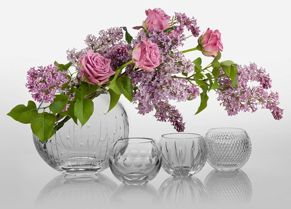 wedding crystal vase